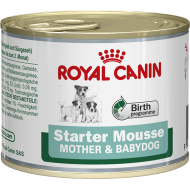 Royal Canin Starter Mousse Mother & Babydog Våtfôr 12 x 195g