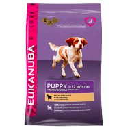 Eukanuba Puppy All Breed Rich in Lamb & Rice 12 kg