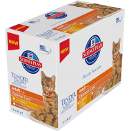 Hill's Science Plan Feline Adult Poultry Selection våtfôr 12 x 85g