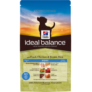 Hill's Ideal Balance Canine Puppy Fresh Chicken & Brown Rice