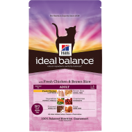 Hill's Ideal Balance Feline Adult with Fresh Chicken & Brown Rice