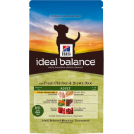Hill's Ideal Balance Canine Adult Medium Breed Fresh Chicken & Brown Rice 12 kg