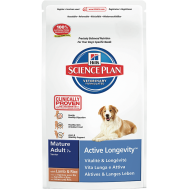 Hill's Science Plan Dog Mature Adult 7+ Medium Lamb & Rice