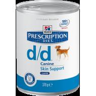 Hill's Prescription Diet Canine d/d™ Lamb våtfôr 12 x 370g