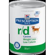 Hill's Prescription Diet Canine r/d våtfôr 12 x 350g