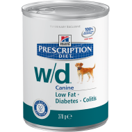 Hill's Prescription Diet Canine w/d™ våtfôr 12 x 370g
