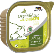 Specific Cat Organic with Chicken våtfôr 7 x 100g