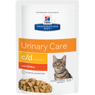 Hill's Prescription Diet Feline c/d™ Urinary Stress Chicken våtfôr 12 x 85g