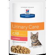 Hill's Prescription Diet Feline c/d™ Urinary Stress Salmon våtfôr 12 x 85g
