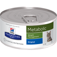 Hill's Prescription Diet Feline Metabolic våtfôr paté 24 x 156g