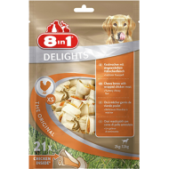 8in1 Delights Bones XS Value Bag 1 pose med 21 stk