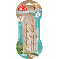 8in1 Delights Pro Dent Twisted Sticks 1 pakke