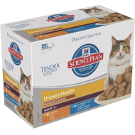 Hill's Science Plan Feline Adult Urinary Health Hairball Chicken/Ocean Fish våtfôr 12 x 85g