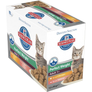 Hill's Science Plan Feline Perfect Weight Multipack våtfôr 12 x 85g