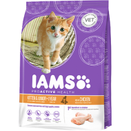 Iams Kitten & Junior with Chicken 10 kg