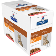 Hill's Prescription Diet Feline k/d Salmon våtfôr 12 x 85g