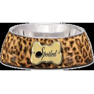Loving Pets Matskål Milano Leopard