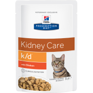 Hill's Prescription Diet Feline k/d Chicken våtfôr 12 x 85g