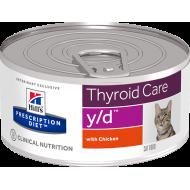 Hill's Prescription Diet Feline y/d™ våtfôr 24 x 156g