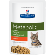 Hill's Prescription Diet Feline Metabolic våtfôr 12 x 85g