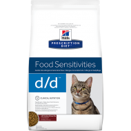 Hill's Prescription Diet Feline d/d Duck/Green Peas 1,5 kg