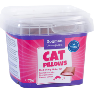 Dogman Cat Pillows med Kremet Laks 75g