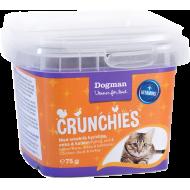 Dogman Crunchies med Kylling og Kalkun 75g