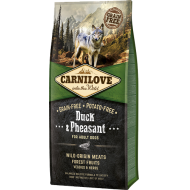 Carnilove Dog Duck & Pheasant for Adult 12 kg