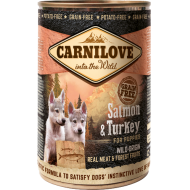 Carnilove Dog Salmon & Turkey for Puppies Canned