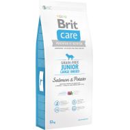 Brit Care Dog Grain-Free Junior Large Breed Salmon & Potato 12 kg