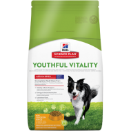 Hill's Science Plan Dog Adult 7+ Youthful Vitality Medium Breed with Chicken & Rice 10 kg