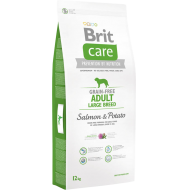 Brit Care Dog Grain-Free Adult Large Breed Salmon & Potato 12 kg