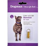 Dogman Navnetube til Halsbånd
