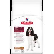 Hill's Science Plan Dog Adult Advanced Fitness Medium Lamb & Rice 12 kg