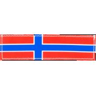 Julius K9 Label Norsk Flagg