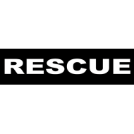 Julius K9 Label Rescue Small - 110 mm x 30 mm