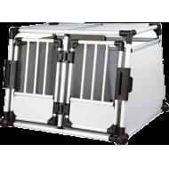 Trixie Transportbur Aluminium Dobbel 95 cm × 69 cm × 88 cm