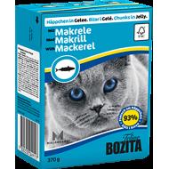 Bozita Cat Kylling & Makrell i Gelè 16 x 370 g