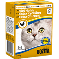 Bozita Cat Extra Kylling i Gelè 16 x 370 g