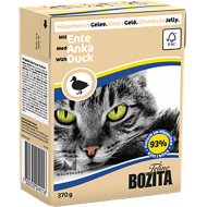 Bozita Cat Kylling & And i Gelè 16 x 370 g