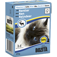 Bozita  Cat Kylling & Reinsdyr i Saus 16 x 370 g