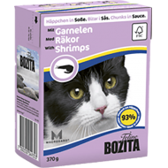 Bozita Cat Kylling &  Reker i Saus 16 x 370 g