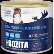 Bozita  Dog Biff & Reinsdyr Patè 12 x 625g