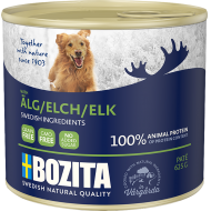 Bozita Dog Biff & Elg Patè 12 x 625g