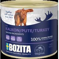 Bozita  Dog Biff & Kalkun Patè 12 x 625g