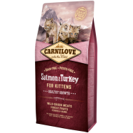 Carnilove Salmon og Turkey for Kittens – Healthy Growth
