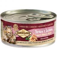 Carnilove Cat Kalkun & Laks Kitten 6 x 100g