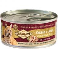 Carnilove Cat Kylling & Lam Adult 6 x 100g