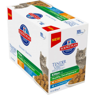 Hill's Science Plan Hills' Science Plan Kitten Chunks in Gravy Multipack 12 x 85g