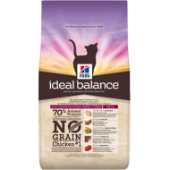 Hill's Ideal Balance Feline Adult No Grain Chicken & Potato 1,5 kg